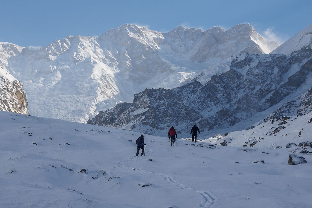 Kanchenjunga South - To Oktang and Back