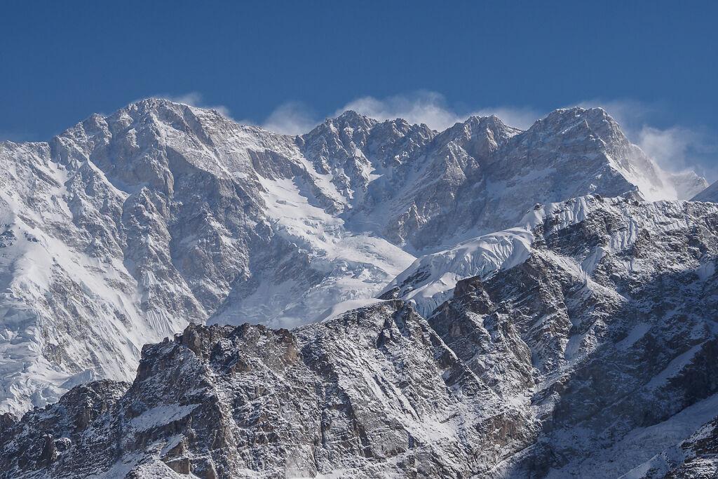 Kanchenjunga South - To Oktang and Back