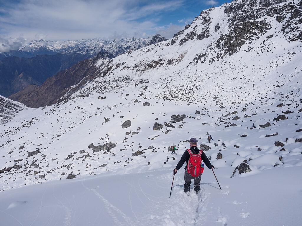 Crossing Mirgin La