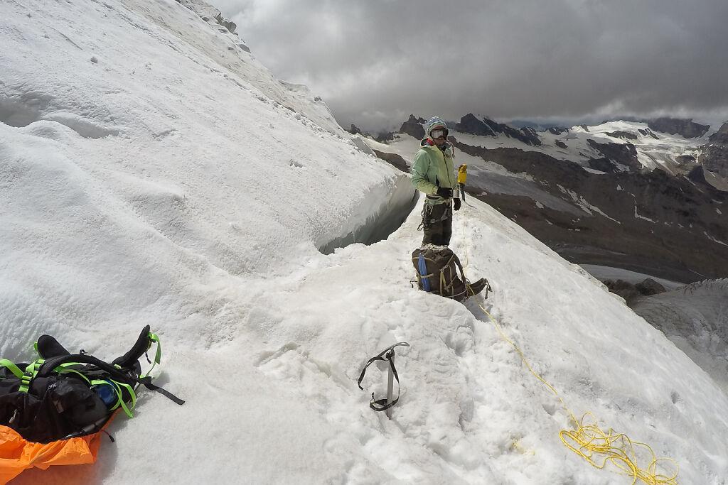 Climbing Mt. Nun
