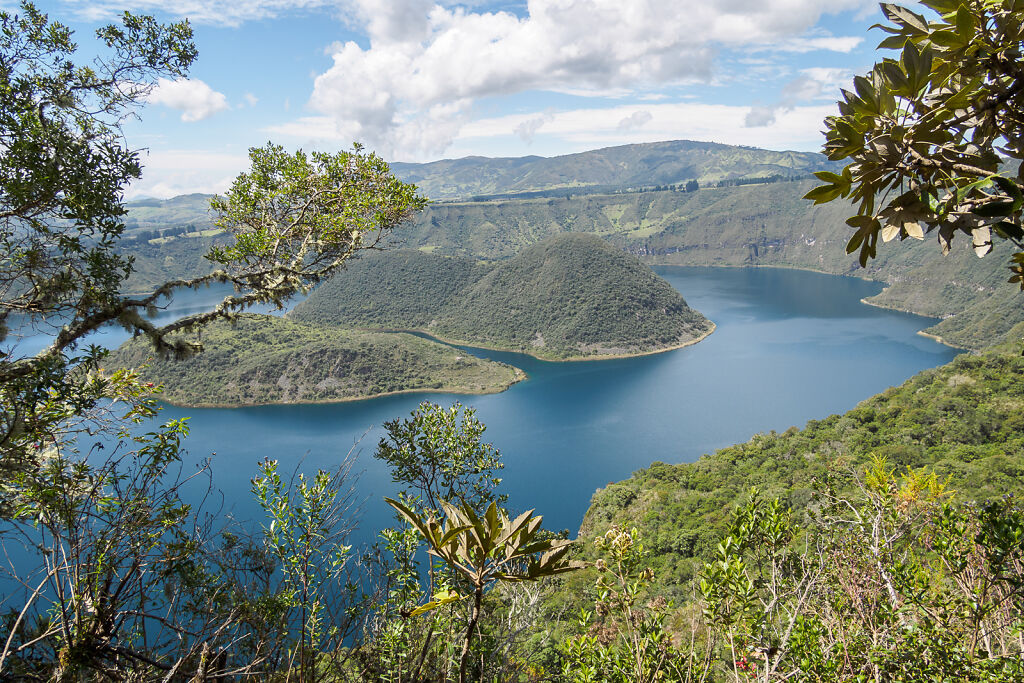 Cuicocha Lake and Otavalo